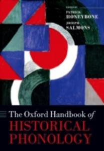 Ebook in inglese Oxford Handbook of Historical Phonology -, -