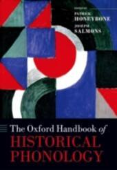Oxford Handbook of Historical Phonology