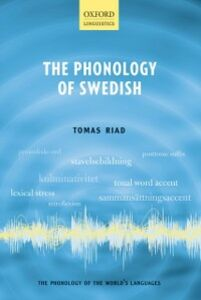 Ebook in inglese Phonology of Swedish Riad, Tomas