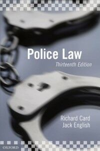 Ebook in inglese Police Law Card, Richard , English, Jack