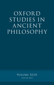 Ebook in inglese Oxford Studies in Ancient Philosophy, Volume 43 -, -