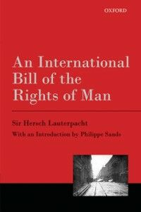 Ebook in inglese International Bill of the Rights of Man Lauterpacht, Hersch
