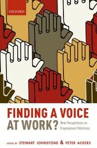 Ebook in inglese Finding a Voice at Work?: New Perspectives on Employment Relations
