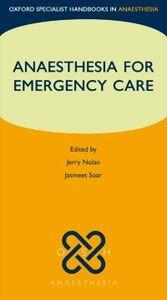Foto Cover di Anaesthesia for Emergency Care, Ebook inglese di  edito da OUP Oxford