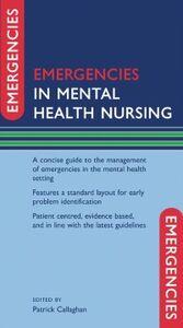 Foto Cover di Emergencies in Mental Health Nursing, Ebook inglese di  edito da OUP Oxford
