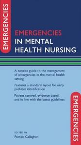 Ebook in inglese Emergencies in Mental Health Nursing -, -