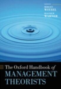 Foto Cover di Oxford Handbook of Management Theorists, Ebook inglese di  edito da OUP Oxford