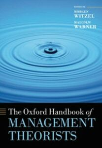 Ebook in inglese Oxford Handbook of Management Theorists -, -