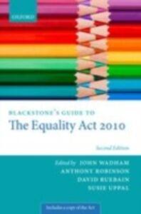 Foto Cover di Blackstone's Guide to the Equality Act 2010, Ebook inglese di  edito da OUP Oxford