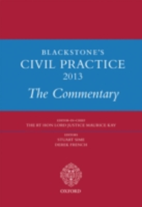 Ebook in inglese Blackstone's Civil Practice 2013:The Commentary -, -