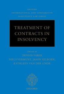 Foto Cover di Treatment of Contracts in Insolvency, Ebook inglese di  edito da OUP Oxford