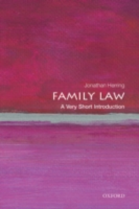 Ebook in inglese Family Law: A Very Short Introduction Herring, Jonathan