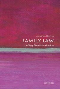Foto Cover di Family Law: A Very Short Introduction, Ebook inglese di Jonathan Herring, edito da OUP Oxford