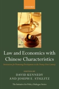 Ebook in inglese Law and Economics with Chinese Characteristics: Institutions for Promoting Development in the Twenty-First Century -, -