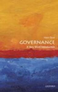 Foto Cover di Governance: A Very Short Introduction, Ebook inglese di Mark Bevir, edito da OUP Oxford