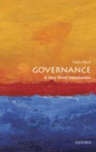 Ebook in inglese Governance: A Very Short Introduction Bevir, Mark