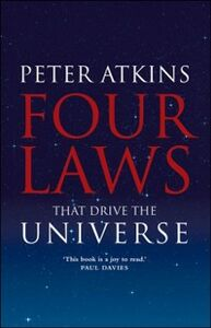 Ebook in inglese Four Laws That Drive the Universe -, -