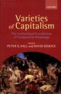 Ebook in inglese Varieties of Capitalism: The Institutional Foundations of Comparative Advantage