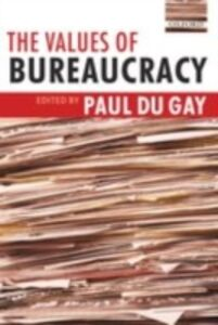Ebook in inglese Values of Bureaucracy
