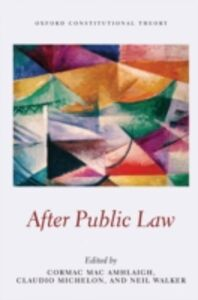 Ebook in inglese After Public Law