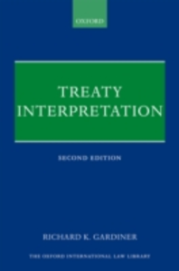 Ebook in inglese Treaty Interpretation Gardiner, Richard