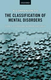 Companion to the Classification of Mental Disorders