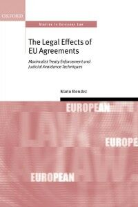 Ebook in inglese Legal Effects of EU Agreements Mendez, Mario