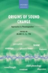 Origins of Sound Change: Approaches to Phonologization