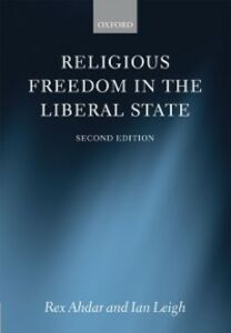 Foto Cover di Religious Freedom in the Liberal State, Ebook inglese di Rex Ahdar,Ian Leigh, edito da OUP Oxford