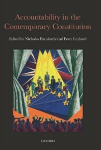 Foto Cover di Accountability in the Contemporary Constitution, Ebook inglese di  edito da OUP Oxford