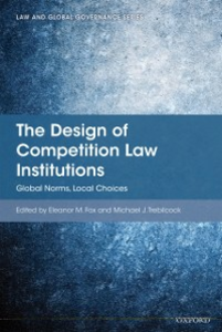 Ebook in inglese Design of Competition Law Institutions: Global Norms, Local Choices -, -