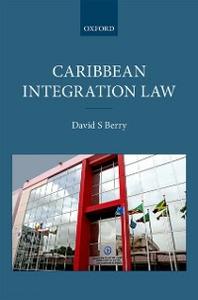 Ebook in inglese Caribbean Integration Law Berry, David S.