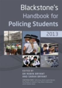 Ebook in inglese Blackstone's Handbook for Policing Students 2013 GraAa, Sofia , Lawton-Barrett, Kevin , O'Neill, Martin , Tong, Stephen
