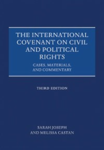 Ebook in inglese International Covenant on Civil and Political Rights: Cases, Materials, and Commentary Castan, Melissa , Joseph, Sarah