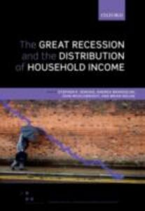 Ebook in inglese Great Recession and the Distribution of Household Income -, -