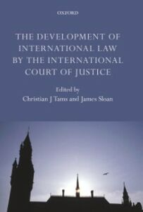 Ebook in inglese Development of International Law by the International Court of Justice