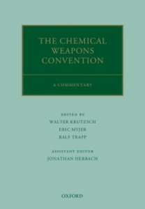 Ebook in inglese Chemical Weapons Convention: A Commentary -, -