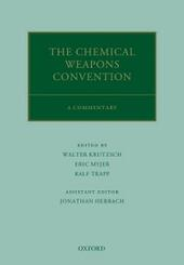 Chemical Weapons Convention: A Commentary