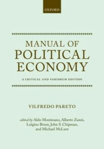 Ebook in inglese Manual of Political Economy: A Critical and Variorum Edition Pareto, Vilfredo
