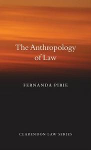Ebook in inglese Anthropology of Law Pirie, Fernanda