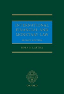 Ebook in inglese International Financial and Monetary Law Lastra, Rosa