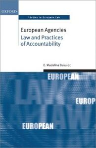 Ebook in inglese European Agencies: Law and Practices of Accountability Busuioc, Madalina