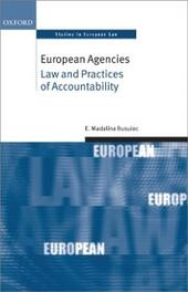 European Agencies: Law and Practices of Accountability
