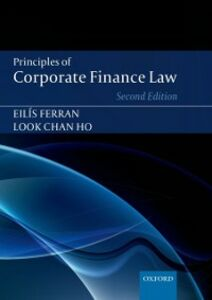 Ebook in inglese Principles of Corporate Finance Law Ferran, Eilis , Ho, Look Chan