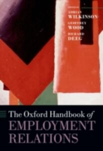 Ebook in inglese Oxford Handbook of Employment Relations: Comparative Employment Systems