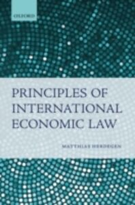 Ebook in inglese Principles of International Economic Law Herdegen, Matthias