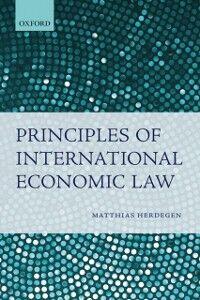 Ebook in inglese Principles of International Economic Law Herdegen, Matthias