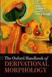 Oxford Handbook of Derivational Morphology