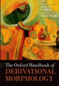 Ebook in inglese Oxford Handbook of Derivational Morphology