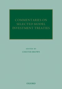 Ebook in inglese Commentaries on Selected Model Investment Treaties -, -